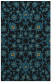 rug #969913 |  black traditional rug