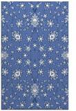 rug #969933 |  blue damask rug