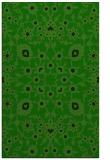rug #969945 |  green damask rug