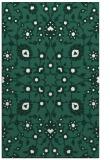 rug #970021 |  blue-green natural rug