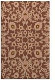 rug #970029 |  brown damask rug