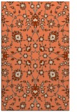 rug #970093 |  orange traditional rug