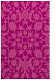 rug #970101 |  pink damask rug