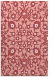 rug #970113 |  white damask rug