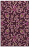 rug #970121 |  green damask rug