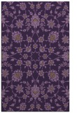 rug #970125 |  mid-brown damask rug