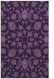 rug #970125 |  purple traditional rug