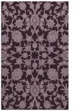 rug #970129 |  purple popular rug