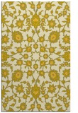 rug #970189 |  yellow traditional rug
