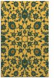 rug #970205 |  light-orange damask rug