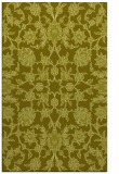 rug #970213 |  light-green damask rug