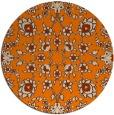 rug #970248 | round damask rug