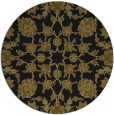 rug #970265 | round mid-brown popular rug