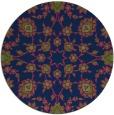 rug #970289 | round green rug