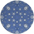 rug #970293 | round blue traditional rug