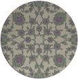 rug #970429   round purple rug