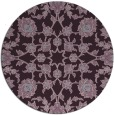 rug #970489 | round purple traditional rug