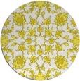 rug #970529   round white natural rug