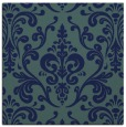 rug #971005 | square blue traditional rug
