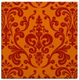 rug #971217 | square red traditional rug