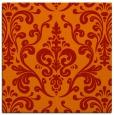 rug #971217 | square red popular rug
