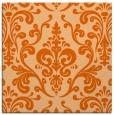 rug #971233 | square red-orange traditional rug