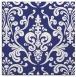 rug #971253 | square blue rug