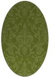 rug #971372 | oval traditional rug