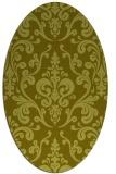 rug #971407 | oval traditional rug