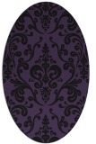 rug #971505 | oval traditional rug