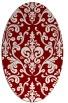 rug #971532 | oval traditional rug