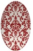 rug #971581 | oval traditional rug