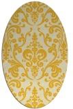rug #971630 | oval traditional rug