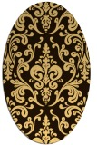 rug #971639 | oval traditional rug