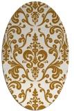 rug #971671 | oval traditional rug