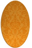 rug #971677 | oval light-orange traditional rug