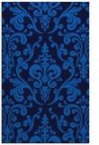 rug #971717 |  blue rug