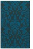 rug #971753 |  blue-green traditional rug