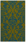 rug #971765 |  green traditional rug
