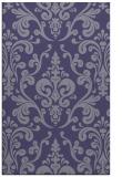 rug #971777 |  blue-violet traditional rug