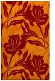 rug #97185 |  red-orange natural rug