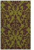 rug #971921 |  purple traditional rug