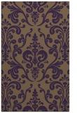 rug #971925 |  purple traditional rug