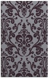 rug #971929 |  purple traditional rug