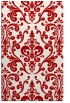 rug #971933 |  red traditional rug