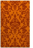rug #971949 |  red-orange traditional rug