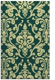 rug #972009 |  yellow traditional rug