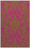 rug #972021 |  pink traditional rug