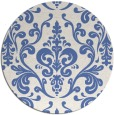 rug #972093 | round blue traditional rug