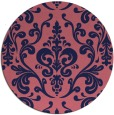 rug #972141 | round pink traditional rug